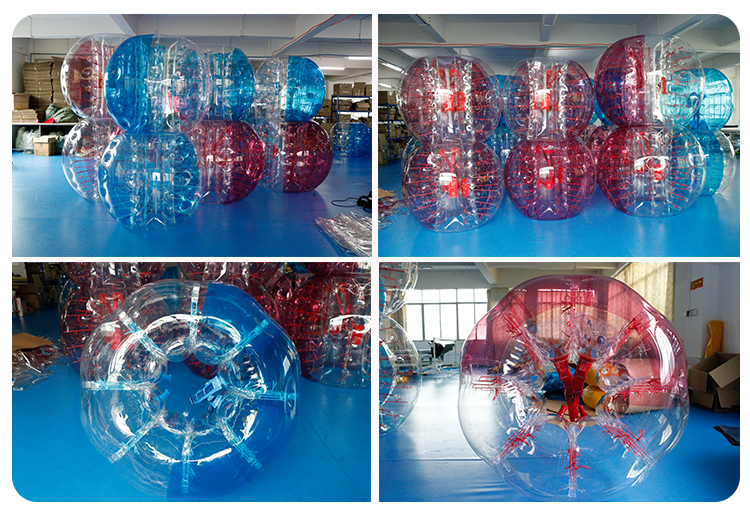 crazy human inflatable bumper ball games high quality knock ball bubble soccer footballs for sale