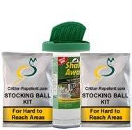 Shake-Away Small Critter 4lb & Stocking Ball Kit COMBO