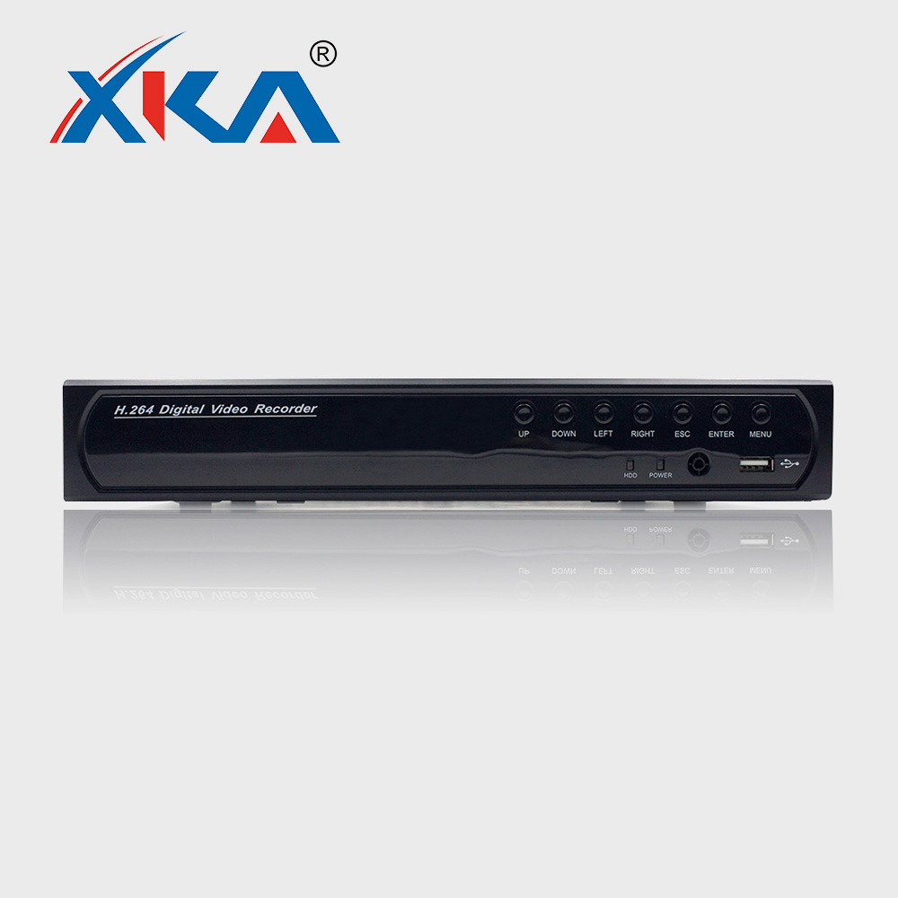 Factory Supply 1 SATA, Max 8TB/HD Digital Video Recorder High Quality H.264 CCTV Security DVR