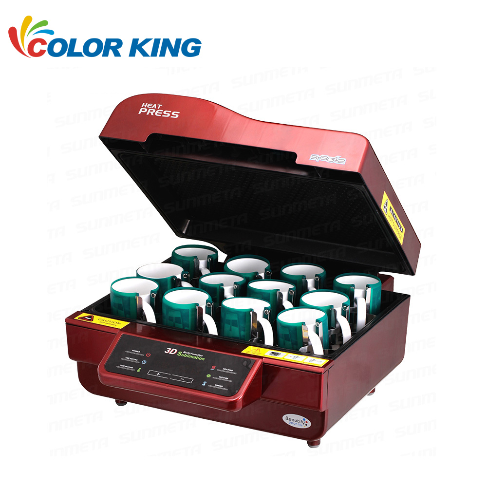 Freesublimation Multi-Functional Phone case Printer 3D Sublimation Vaccum Heat Press Machine