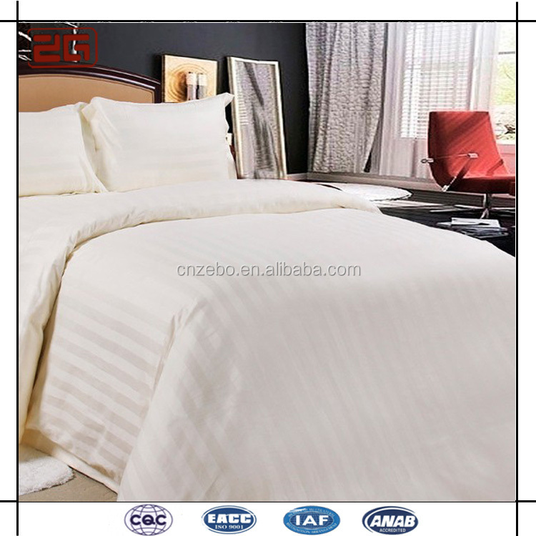 China Guangzhou Manufacture High Quality Four Season Hotel Cotton Bedspread for Sale