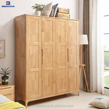 Modern Bedroom Wooden 4 Door Wardrobe Cabinet Design Buy Bedroom Furniture 4 Door Wardrobe2 Door Wardrobecheap Corner Bedroom Wardrobe Product On