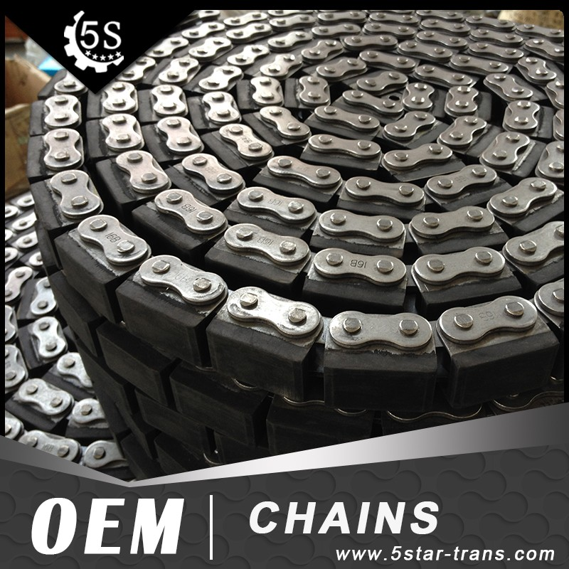 16B-G2 Rubber Attachment Roller Chain