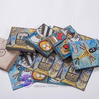 Cheap custom paper napkins