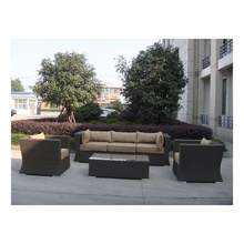 cane corner sofa set living room furniture