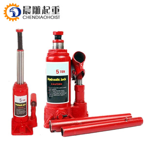 2Ton Telescoping Double Ram/Lift Two Stage Welding Mini Small Air Oil Auto Hydraulic Bottle Car Jack/Hydraulic Bottle car jack