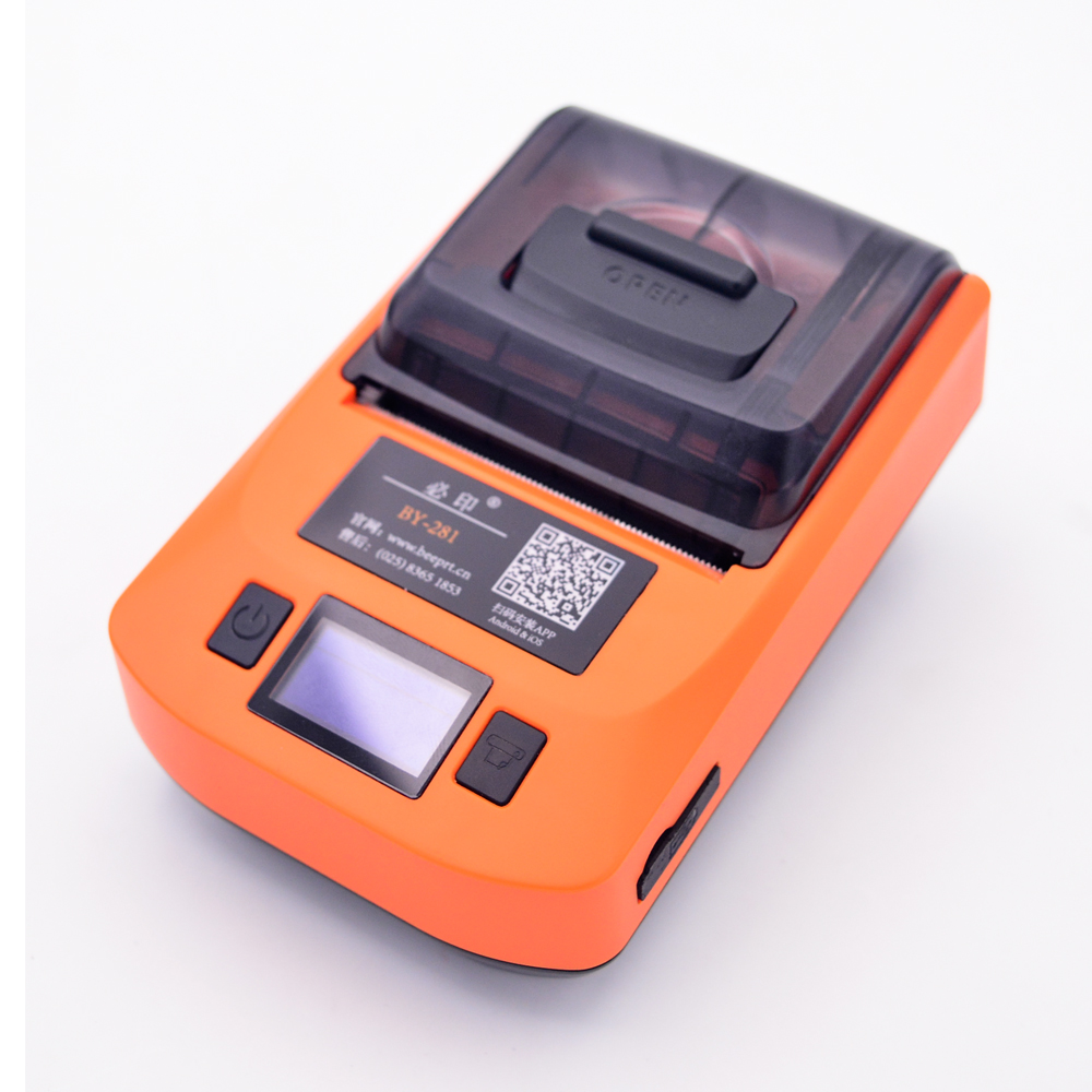 Beeprt 110mm Thermische barcode label sticker printer Voor logistiek express industrie