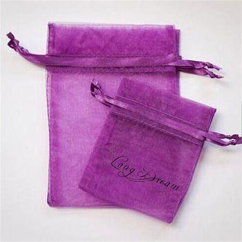 Yellow Jewelry Wedding Gift Bags Pouches Small Drawstring Mesh Organza Bag Snowflake Round
