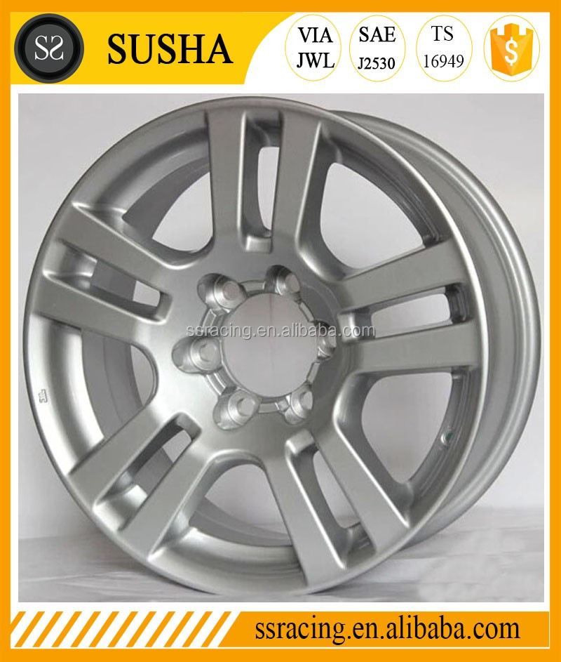 """16"""" 17"""" 18"""" And 20"""" Silver Aluminum Alloy Wheels In 5x150"""