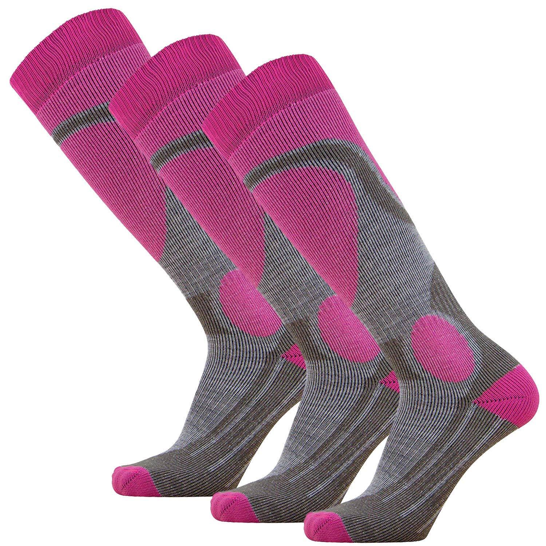 caa52811fc04 Get Quotations · Elite Ski Socks – Lightweight Merino Wool Warm Skiing Sock  for Men and Women (Medium