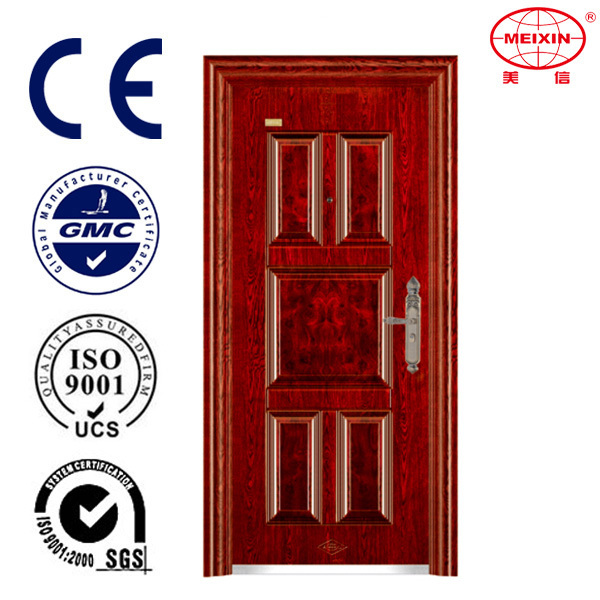Manufacture MXS-6608 China Commercial Cheap price iron steel door