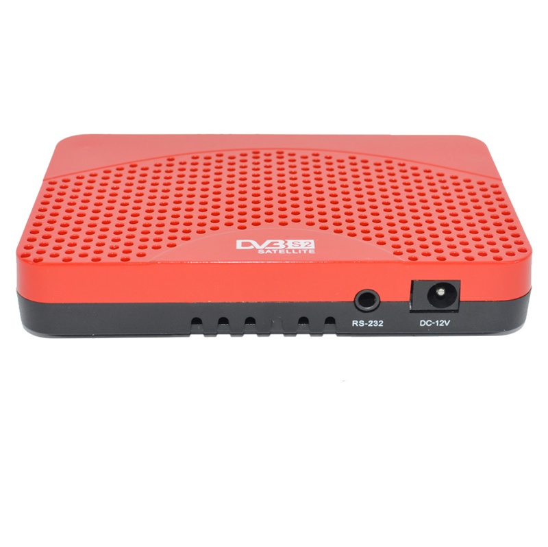 DVB S2 Digital set top box player multimídia completo digital video broadcasting com wifi dongle