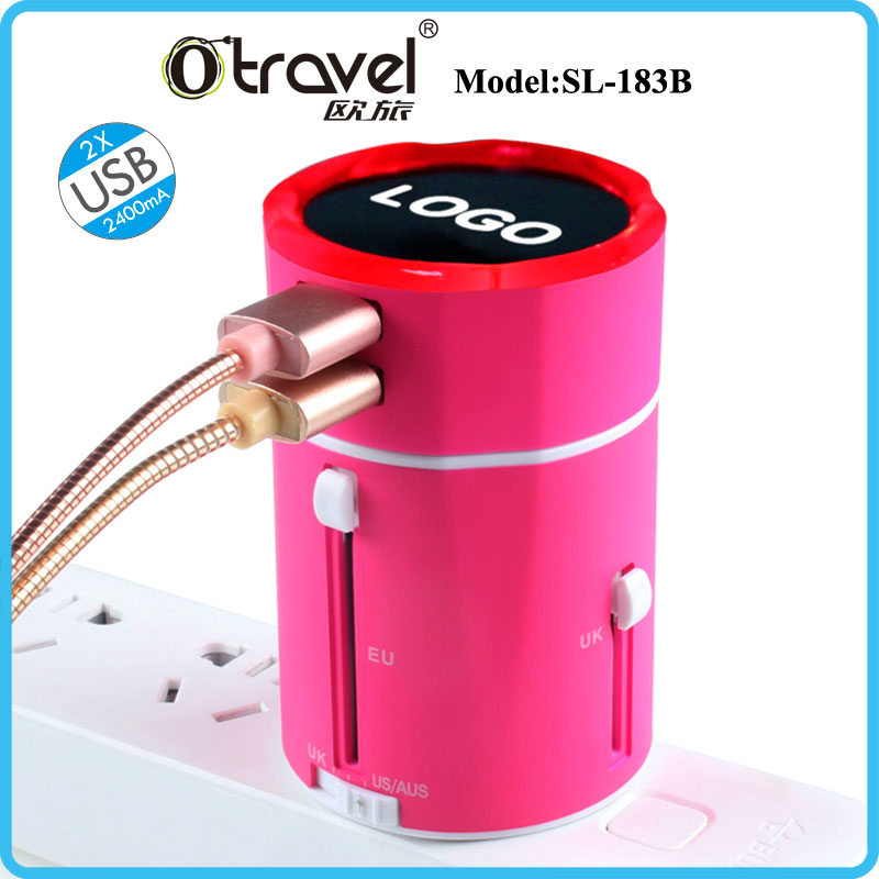 2017 New Arrival Promotion <strong>Gift</strong>/ Corporate <strong>Gift</strong>/ business <strong>Gift</strong> for travelling adapter usb charger