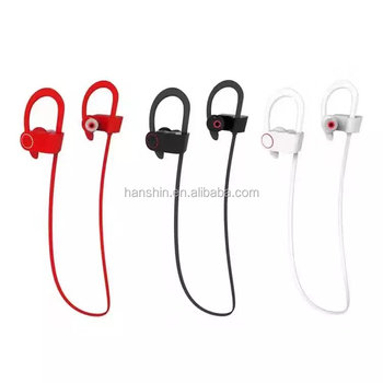 Alibaba hot Sell cheapst dual standby stereo Sport wireless bluetooth earphone with hook