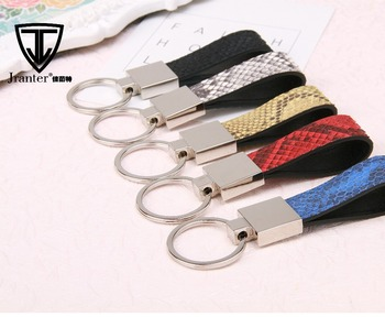 Jranter Leather Accessories Python Skin Key Chain Key Holders