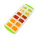 JK09 large custom silicone 12 ice cube tray