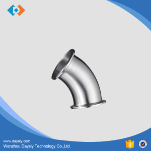 Sanitary pipe fitting elbow 15 30 45 60 90 Degree manufacturer