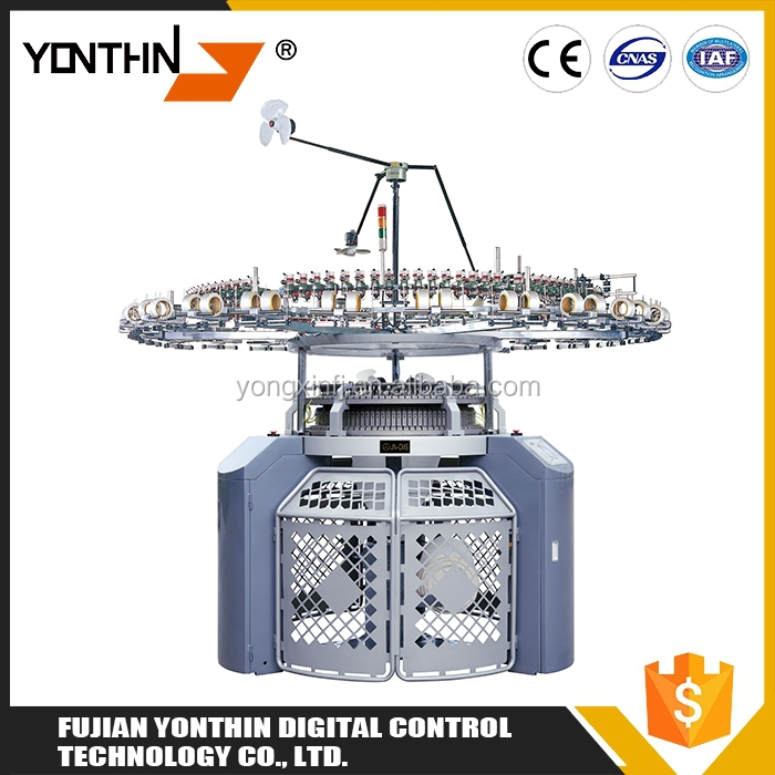 Textile Machine Electronic Seamless Single Jersey Knitting Machine