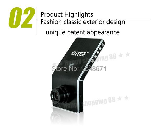 100% сша OiTEZ оригинал Ambarella 5MP 1080 P автомобильный видеорегистратор 2.4