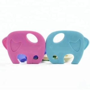 kids silicone baby teether chewable toys silicone teether wholesale