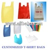 Customized Plastic T-shirt Bag
