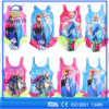 Blue Anna Frozen swimwear children one piece swimwear kids swimsuits frozen swim dress