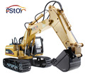 RC Excavator 15CH 2 4G Remote Control Constructing Truck Crawler Digger Model Electronic Engineering Truck Toy