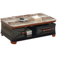 Wooden Cheap Center Table And Nice Design Tea Table Tempered Glass Top Coffee Table wood