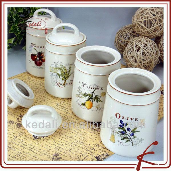 Ceramic Canister Tea Coffee Sugar Set Supplieranufacturers At Alibaba