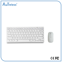 Free sample 78keys ABS wireless gaming keyboard and mouse