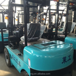 Multifunction narrow wheel track 1.5 ton forklift used for narrow aisle rack
