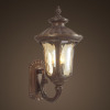 IP44 Aluminium antique high quality brass outdoor wall light