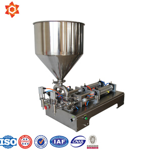 Honey Filling Machine Single Piston/Perfume Filling Machine 1ml/Liquid Filling Machine 10ml