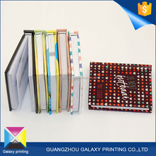 OEM Custom shaped high quality hard cover mini coloring pocket book printing