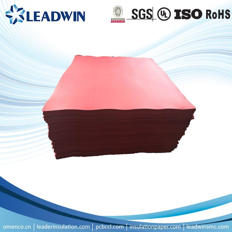SGS Excellent insulation red vulcanized fibre sheet for aerospace industries