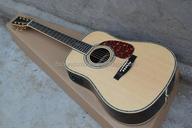 free shipping unique china guitar factory guitar brands thin acoustic guitar Hot Sale Professional High Grade 41'' Acoustic Guit