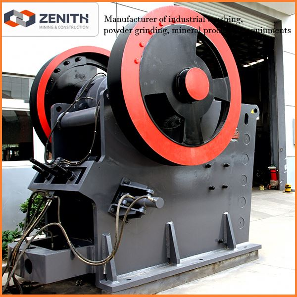 Zenith low price easy handling crush the basalt rock