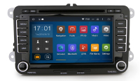 "7"" touch screen car dvd player with gps navigation wifi bluetooth maximum 32G compatibility for Skoda Fabia Octavia"