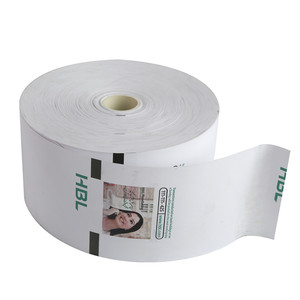 China Wholesale Jumbo Thermal Printer Paper Roll for Bank ATM/POS Machine