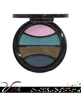 Professional 4 color eyeshadow palette high pigment makeup