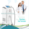 Painless all skin types applicable continuous motion diode laser hair remove machine