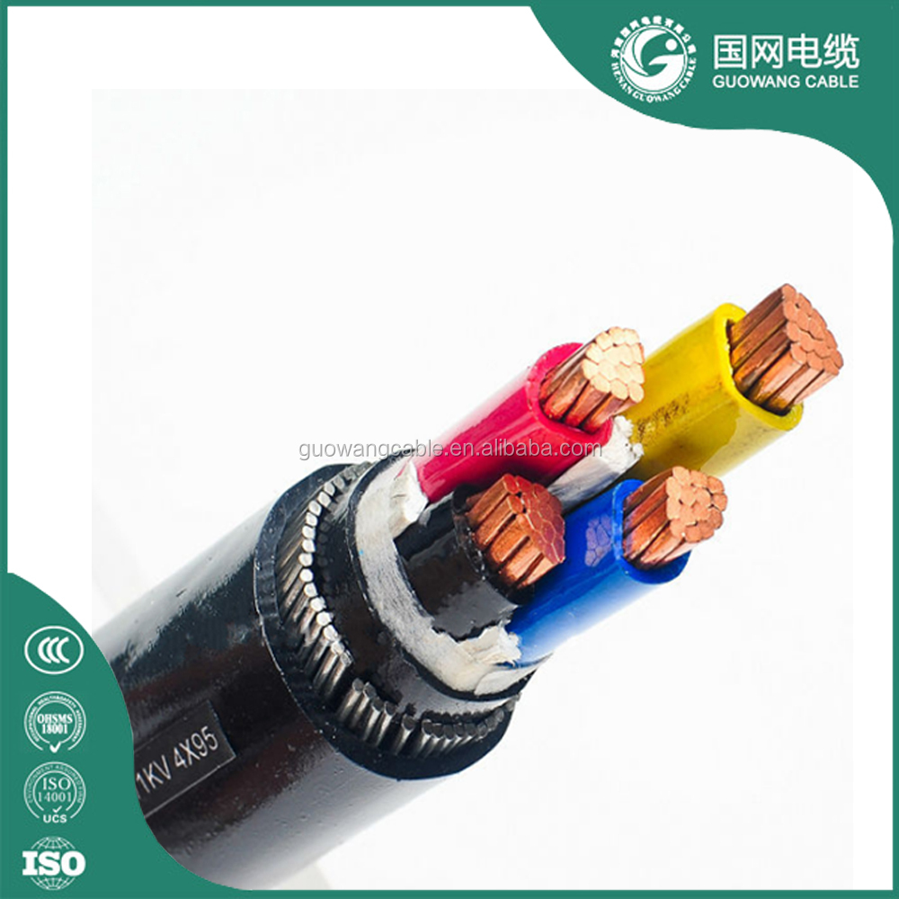 Steel Wire/Tape Armored Cable Power Transmission Line 11kv Copper Steel Wire Armored Cable 630mm2 120mm2 Xlpe Insulated Cable