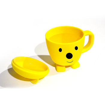 100% Food Grade Silicone Drinking Cups Baby Water Cup Training Cup for Kids