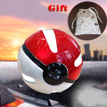 Usb 2.0 DC 5V Input Output 1.5A 18650 Lithium Battery Pokemon Go Official 10000mah Pokeball Power Bank Hunting Light
