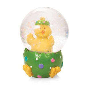 Holiday Chick Decoration Water Globe Easter Snow Globe