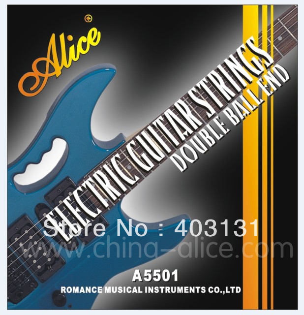 alice strings electric guitar strings double ball end electric guitar strings a5501 nickel alloy. Black Bedroom Furniture Sets. Home Design Ideas