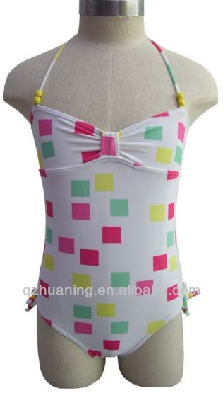 China factory junior girls swimwear of children bath suit
