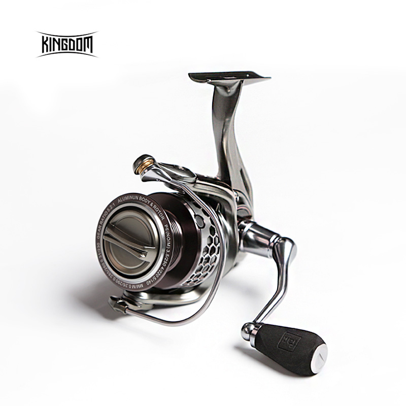 KINGDOM 11+1BB Model FL1500, FL2000, FL3000 Lure Fishing Spinning Reel Metal Fishing Reel