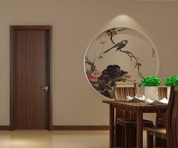 color nogal de chapa madera laminada flush mdf puertas interiores diseo con jamba
