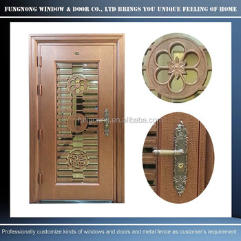 High Quality Luxury Looking 304 Stainless Steel Front Doorcustom